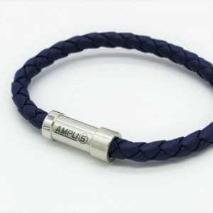 Premium-Lederarmband-Blau